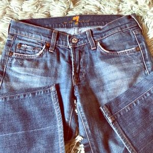 Women's 7 for all mankind jeans